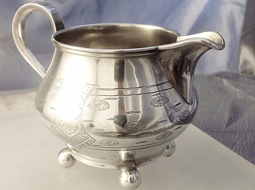 Russian silver jug Moscow 1893