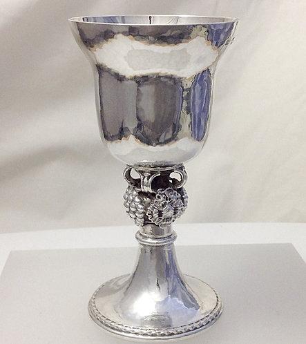 Arts & Crafts Silver Chalice Omar Ramsden 1938