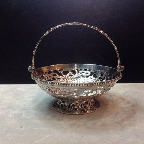 Scottish Edinburgh Silver Swing handle basket 1848
