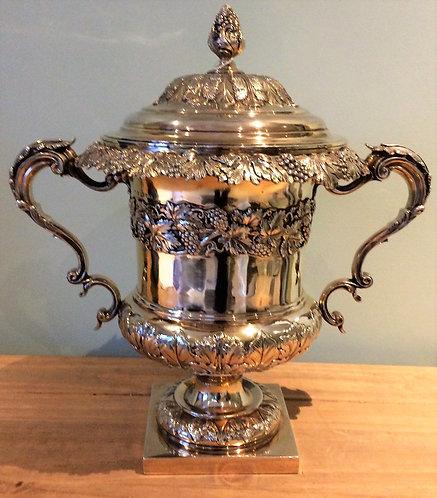 Matthew Boulton Silver vase - lidded ice bucket 1827