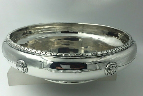 Beautiful Large Arts Crafts G L Connell silver bowl Birmingham 1923