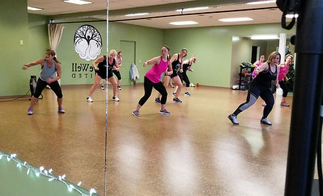 Turbokick group fitness class
