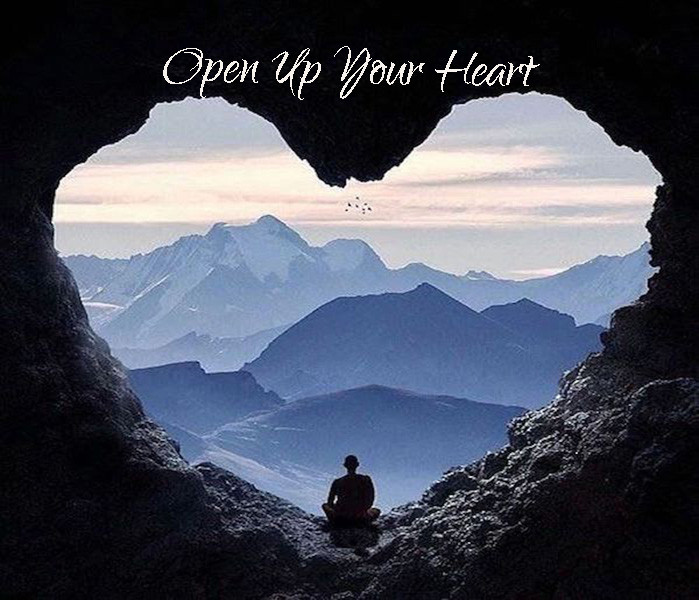 "My song ""Open Up Your Heart"" emerged out of my concern for Planet Earth and it's inhabitants."