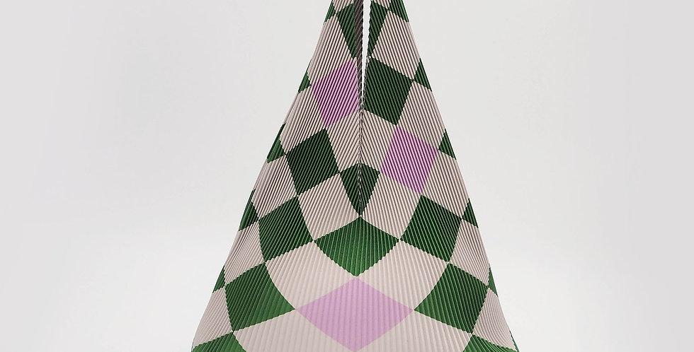Hobo Mini Checkerboard Green