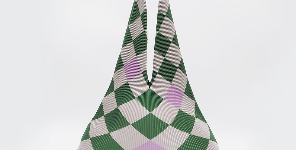 Hobo Regular Checkerboard Green