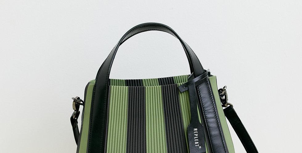 Pleated Handbag 22 SAGE