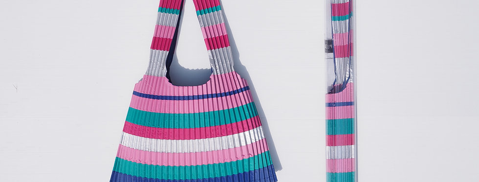 Pink tote bag S