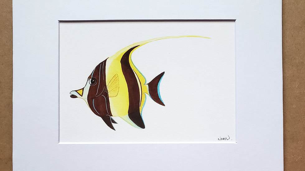 Moorish Idol print
