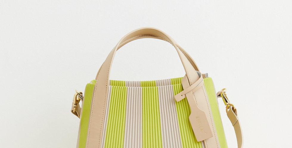 Pleated Handbag 22 LEMON
