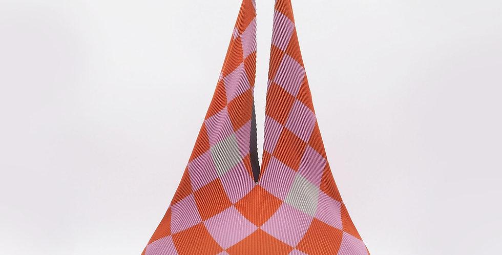 Hobo Regular Checkerboard Tangerine