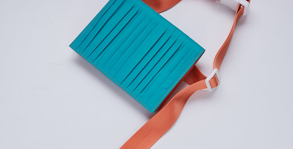 TEAL BELT BAG