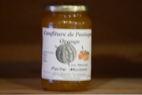 confiture de pastèque orange 370ml