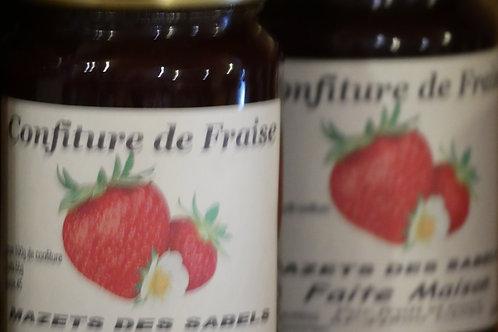 confiture de fraise 370ml