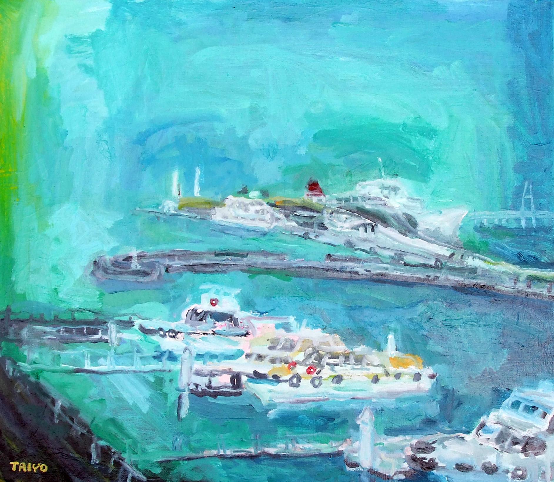 港の風景 F10