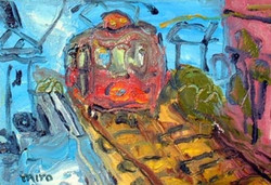 海からの電車 SM