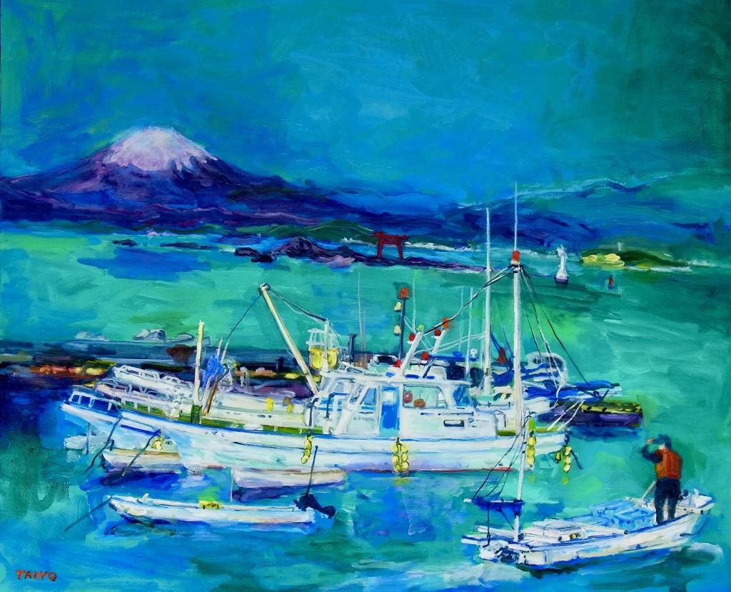 真名瀬からの富士 F20