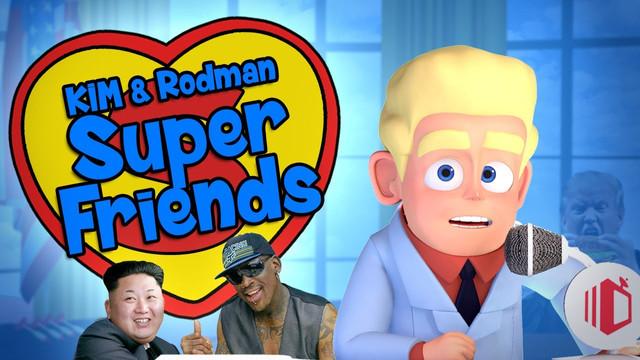 Jong-Un & Rodman - Superfriends (DailyBake Ep.7: Rodman, Kim & Warmbier)