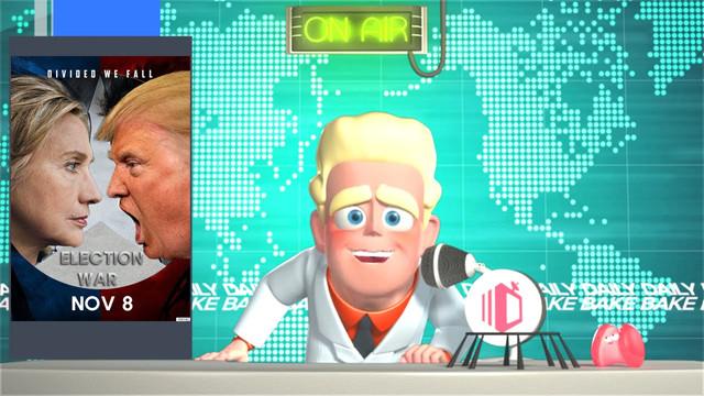 Daily Bake by Glincon(US Election Special: Trump vs. Clinton)
