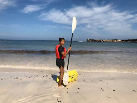 Kayak the local bays.