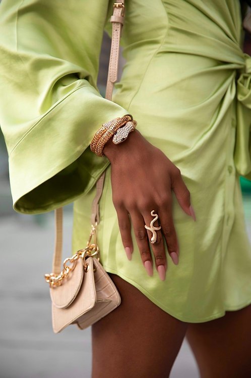 Viper Ring Gold