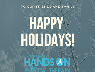 Have a Healthy and Happy Holiday Season!