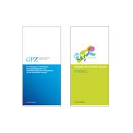 Leporello-Flyer für Fortbildungsprogramme des BDG