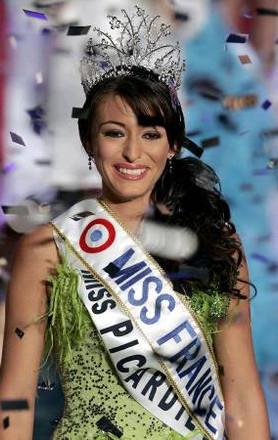 Miss France. Rachel Legrain - Trapani