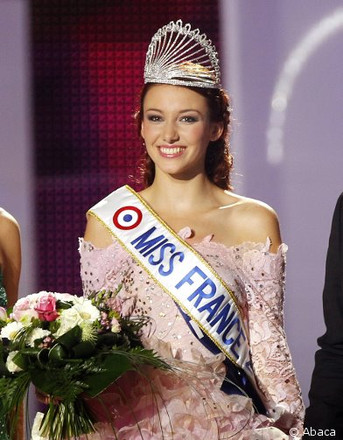 Miss France. Delphine Wespiser