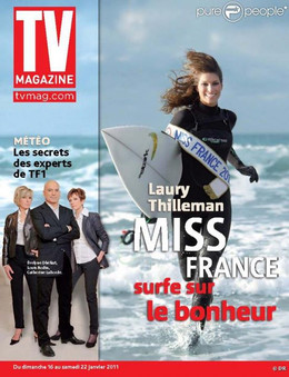 Cover Miss France