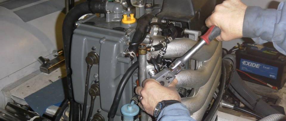 Manutenzione motori fuoribordo