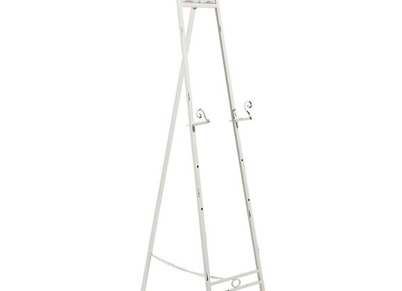 White Rustic Easel