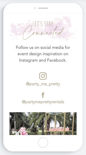 Party Me Pretty IG Gallery