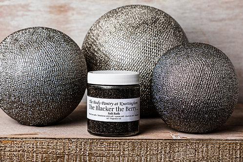 The Blacker the Berry Series: The Blacker the Berry Salt Bath