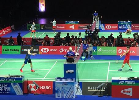 Badminton grüsst die Welt.