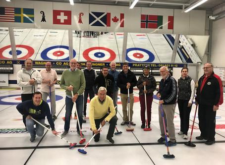 Ein erlebnisreicher Curling Abend