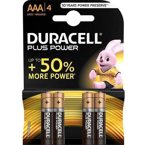 DURACELL AAA LR03 - PILHAS