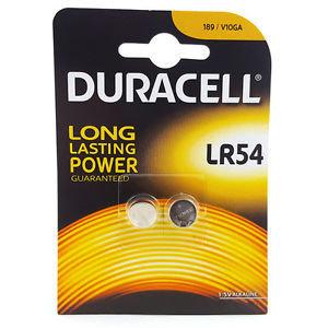 DURACELL LR54 - PILHAS