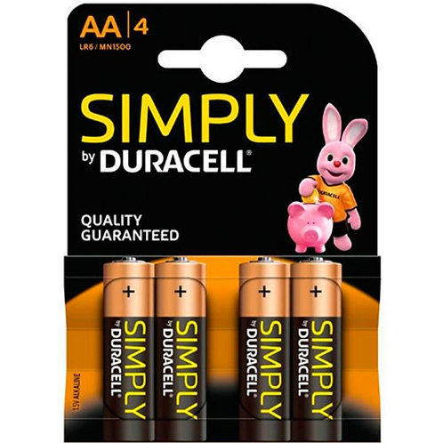 DURACELL AA LR6 - PILHAS