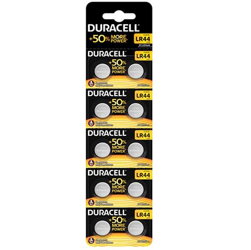 DURACELL LR44 - PILHAS