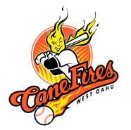 Team logo for West Oahu CaneFires, Hawaii Winter Baseball