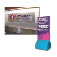 Airport branch signage for Hawaiian Airlines