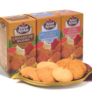 Packaging design for Kauai Kookies