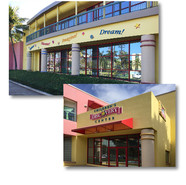 Exterior graphics and signage for Children's Discovery Center