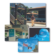 Signage and graphics for Whalers Village Shopping Center