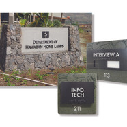 Signage program for Department of Hawaiian Home Lands