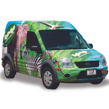 "Vehicle graphics for Honolulu Zoo ""Zoo To You"" Outreach Program"