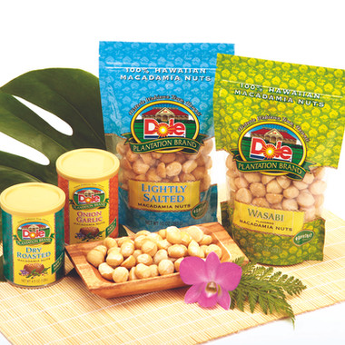 Packaging design for Dole Plantation Brand