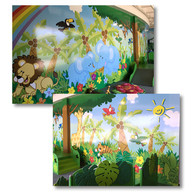 Exhibit graphics for Children's Discovery Center
