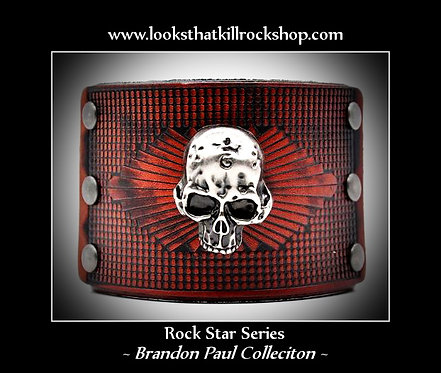 "Rock Star Series  Stonebreeds ""Brandon Paul""Collection Cuff"