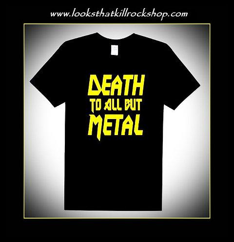 "Glam Band ""Steel Panthers"" Anthem Rock T Shirt"